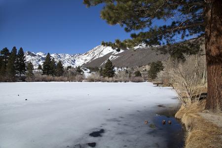 intake: Intake Lake ii in California