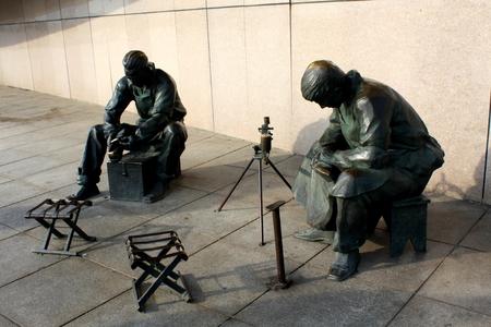 plaza: Sculpture at Dalian  Plaza