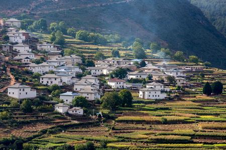 pastoral scenery: shangri la Yunnan hill