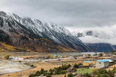 tibet: Tibet ranwu Lake scenery
