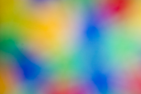 intentional: Light Blur of a Colorful Stained Glass - Abstract #2