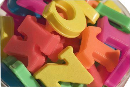 Kid's alphabet letters Stock Photo - 1874900
