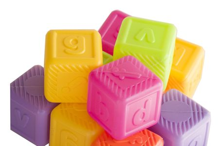 Alphabet blocks for toddlers Stock Photo - 1874907