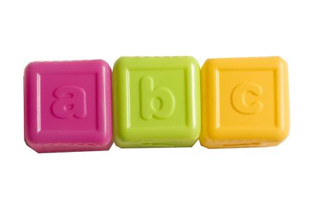 ABC alphabet blocks for kids Stock Photo - 1874905
