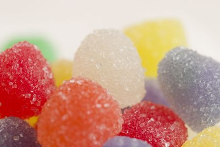 chewy: Sugar coated chewy candies