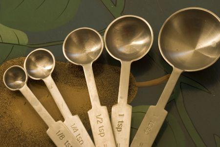 cucharas de medir  Foto de archivo - 3244829