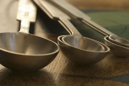 quantities: set of measuring spoons