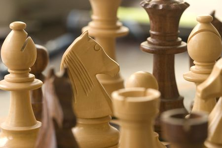 chess pieces Stock Photo - 3657367