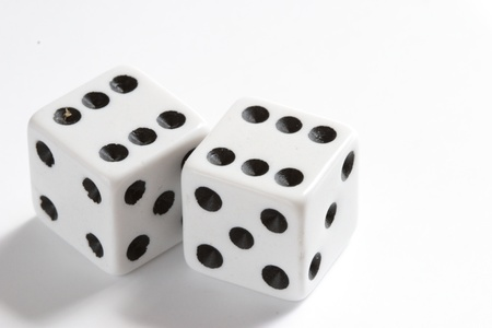 two casino dice