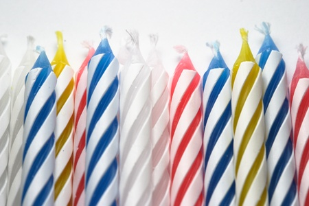 pretty party candles photo