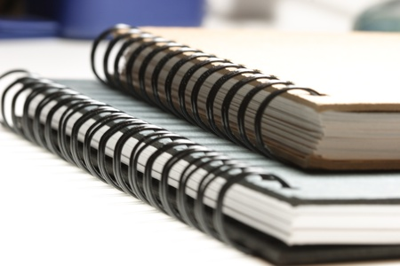 Two ring bound school journals Stock Photo - 10360790