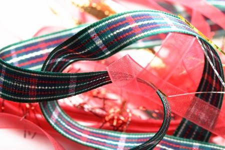 Bonitas cintas de regalo para las fiestas Foto de archivo - 10465298