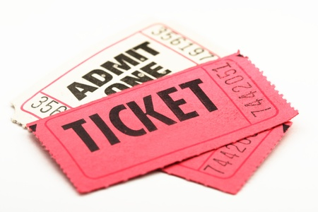 Admit One Tickets Stock Photo - 10564092