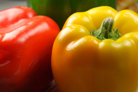 bell peppers: sweet bell peppers