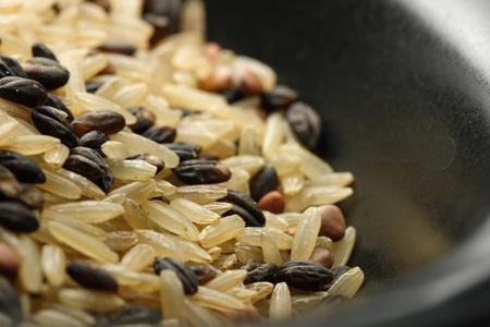 Gourmet arroz silvestre en un tazón Foto de archivo - 11297678