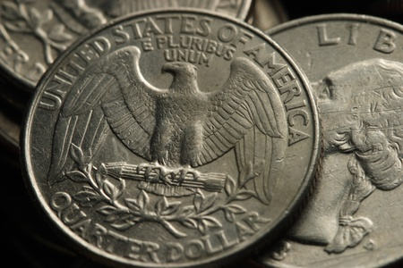 US quarters Stock Photo - 11297682