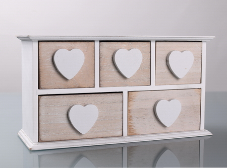 mini white wooden cupboard front view stock photo picture and
