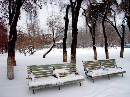 Urumqi winter scene22                                                                photo