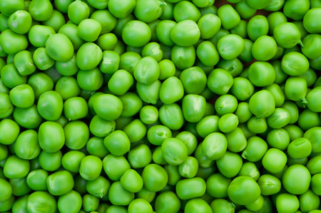 fill up: Fresh green peas background texture top view