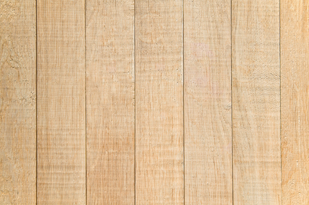 Top view of wooden background with vertical planks Stock Photo
