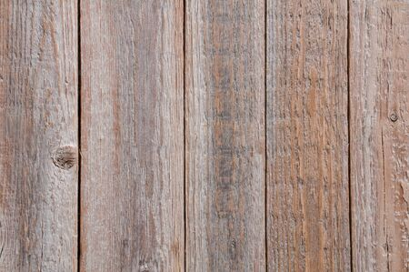 Top view of wooden background with vertical planks Фото со стока