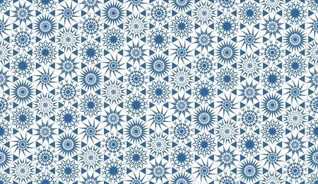 parquet: Geometric seamless parquet pattern in blue tones
