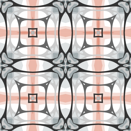 repeated: Seamless pattern, smooth lines. Geometric modern texture. endless background.