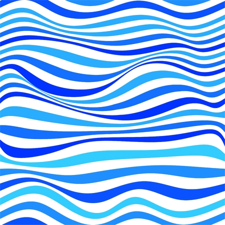 aqueous: Abstract background. Seamless pattern with waves. Vector illustration. Illustration
