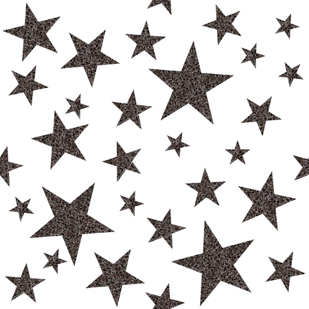 platinum: Seamless pattern with platinum stars on white background. Vector illustration.