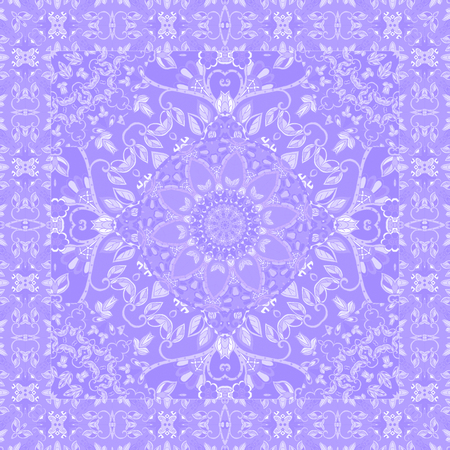 Beautiful blanket   in lilac tones. Shawl. Tablecloth.