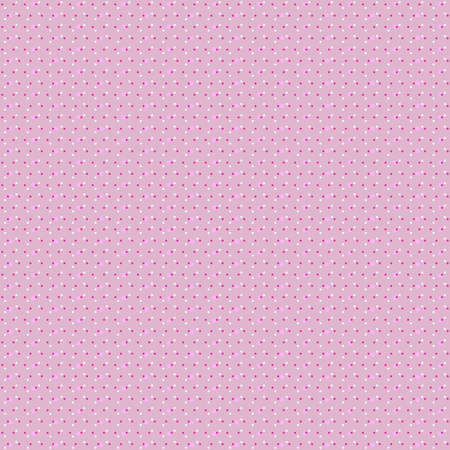 Endless creative polka dot background. Confetti pattern in vector. Colorfull spots on light pink background. Print for fabric, wrapping design.