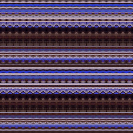 Ethnic seamless pattern with horizontal striped ornament. Print for fabric, textile, tapestry. 版權商用圖片 - 155706119
