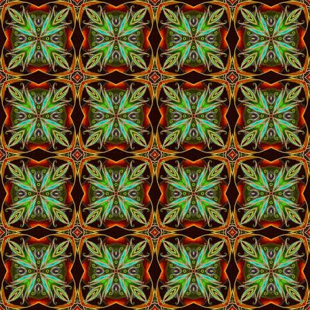 Seamless textured background. Furniture fabrics. Ceramic tiles, wallpaper. 免版税图像