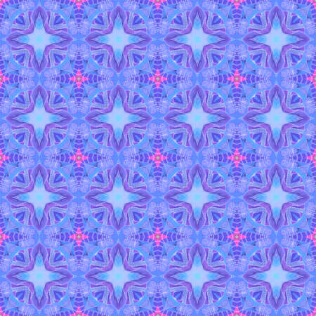 Beautiful seamless pattern with tracery regular ornament. Graceful print for fabric Zdjęcie Seryjne