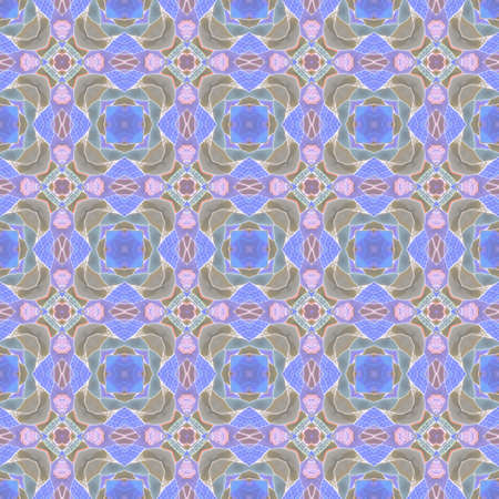 Abstract seamless pattern with regular ornament. Print for fabric, textile, wrapping paper. Zdjęcie Seryjne