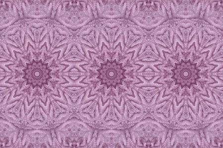 Beautiful seamless pattern with knitted mandalas. Print for fabric and textile. Zdjęcie Seryjne