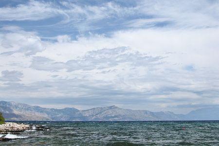 brac: Shoreline on the island of Brac, Croatia