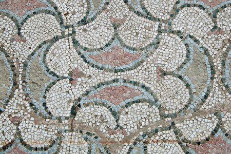 Ancient mosaic in Ohrid, Macedonia Stock Photo - 429100