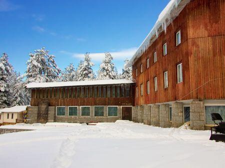 Ski resort in Bulgaria, East Europe photo