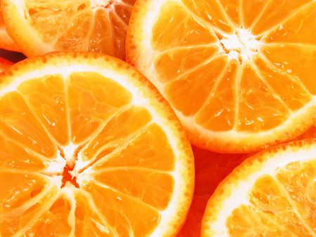 ailment: Orange slices close up