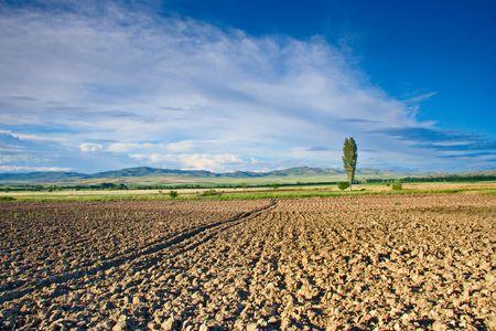 macedonia: Farmland in countryside, Macedonia