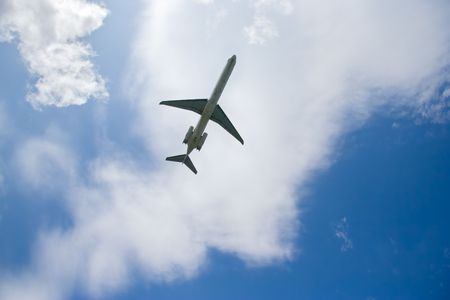 Airplane in flight Stock Photo - 577995