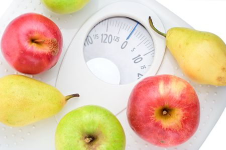 Eat healthy food and loose weight Stock Photo - 601260