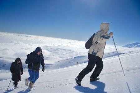 Alpine expedition climbing Mt. Sar Planina in Macedonia Stock Photo - 663668