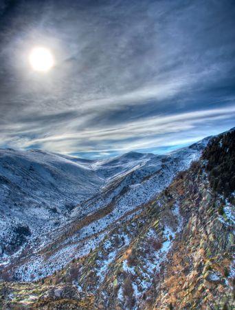 macedonia: Winter scene from national park Pelister, Macedonia Stock Photo