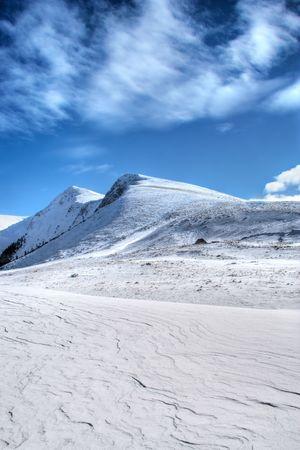 macedonia: Winter scene from Macedonia