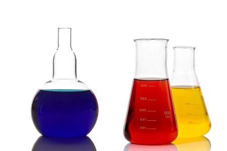 Lab glassware photo