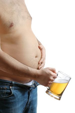 Beer belly photo