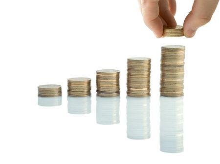 payout: Columnas de monedas