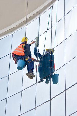 Window washer Stock Photo - 845753